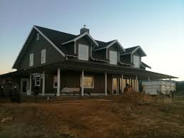 field of dreams farmhouse wrap around porch home design kevrandoz