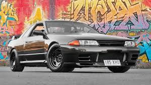 nissan black car the black pearl nissan skyline gt r r32 car feature youtube