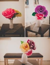 paper flower centerpieces handmade paper flower wedding nata jess green wedding shoes