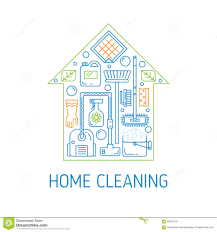 Cleaning Blogs House Cleaning Vector Concept Stock Vector Image 69239178