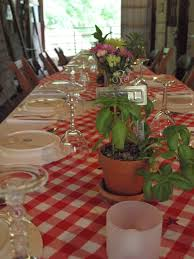 Italian Backyard Design by Ohio Thoughts Italian Dinner Party Table Decorations Loversiq
