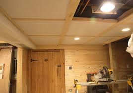 paneling for basement ceiling