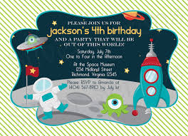 birthday invites amazing space birthday invitations ideas