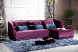 Purple Sectional Sofa Purple Sofa 9899 Bengfa Info