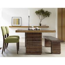 Bench Tables Dining Paloma Dining Table In Dining Tables Crate And Barrel Dining