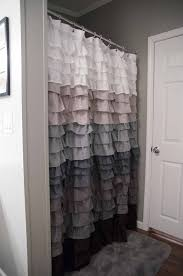 ruffle shower curtain for the home pinterest ruffle shower