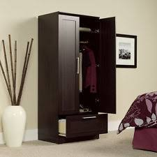 Wooden Armoire Wardrobe Contemporary Armoires And Wardrobes Ebay