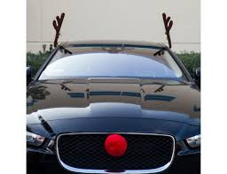 reindeer antlers for car reindeer antlers nose car vehicle costume rudolph