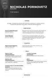 Retail Management Resume Examples by Download Shift Manager Resume Haadyaooverbayresort Com