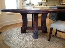 diy round farmhouse table diy round dining table pianotiles info
