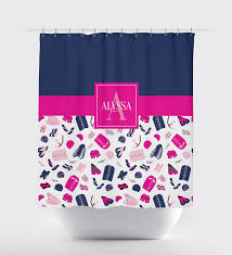 Pale Pink Bathroom Accessories by Boys U0026 Girls Swimming Themed Shower Curtain Swimmers U2013 Shop