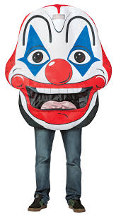 halloween props usa evil scary clowns scary clown costumes props masks