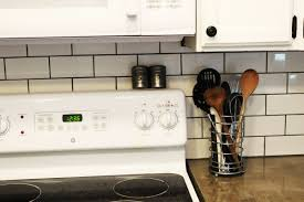 Kitchen Radio Under Cabinet How To Install A Subway Tile Kitchen Backsplash