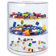 BLOKPOD Toy & Lego Storage Bin Organizer • Multipurpose Stackable