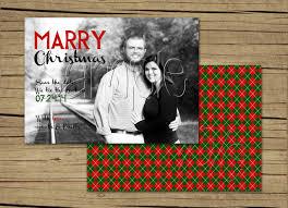 engagement announcement cards 25 5x7 photo christmas card engagement announcements
