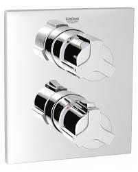 grohe spa allure thermostat bath shower mixer valve 19446000 35 grohe spa allure thermostat bath shower mixer valve