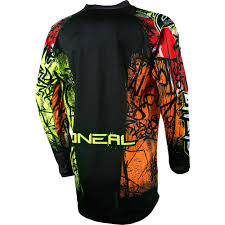 kids motocross gear combo o u0027neal element vandal motocross dirtbike gear 2017