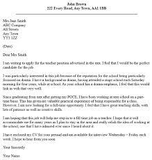 cover letter example for job application resume badak