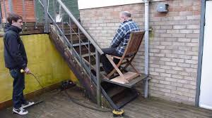 Used Stair Lifts For Sale by Diy Granny Stair Lift Youtube