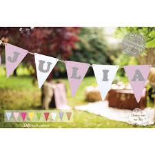 guirlande fanion mariage guirlande fanions avec votre texte prénom ou autre pour décorer