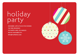 holiday party invitations templates with white fonts colors and