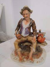Capodimonte Tramp On A Bench Multi Capodimonte Porcelain U0026 China Figurines Ebay