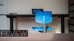ikea sit stand desk review i can u0027t believe how much i like this