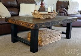 coffee tables exquisite brown square industrial wood and metal