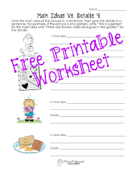 uncategorized main idea worksheets 2nd grade klimttreeoflife
