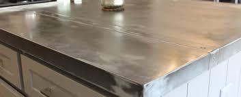 Zinc Kitchen Island - zinc kitchen countertops uk zinccountertopjpgzinc for the zinc