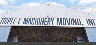 heavy machinery moving triple e machinery moving inc