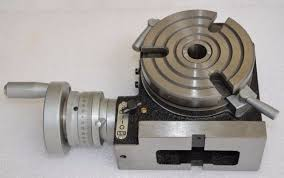 rotary table for milling machine hv4 diameter 100mm vertical and horizontal milling machine