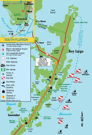 Florida Artificial Reefs Map by Scuba 007 Key Largo Travel Notes