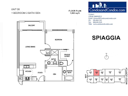 1 Bedroom Condo Floor Plans by Oceanfront Condos For Sale Surfside
