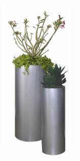 modern outdoor metal planters with a clean design best images on