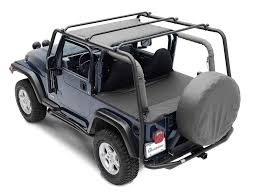 jeep safari rack smittybilt 76711 src roof rack in textured black for 87 95 jeep