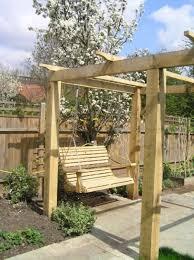 Swing Pergola Swing Seats For Your Own Pergolas Porches Etc Sitting Spiritually