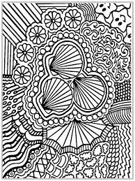 advanced coloring pages seashells coloringstar