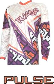 purple motocross gear mojo mx jersey orange purple white pulse mx