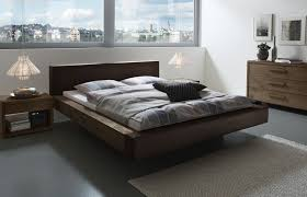Schlafzimmer Bett Mit Led Wildeiche Bett Mit Modernem Kunstleder Bett Mataro Betten De