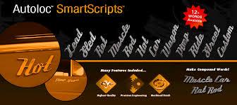 smart script emblems chrome auto emblems