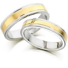 two tone wedding rings tone wedding band