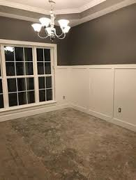 sherwin williams requisite gray farmhouse dining room paint