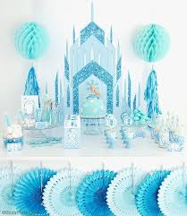 A Frozen Inspired Birthday Party Party Ideas
