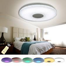 Lampen F Wohnzimmer Led Natsen Led Deckenlampen 48w Rgb Modern Lampen Voll Dimmbar