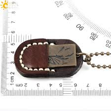 aliexpress buy new arrival cool charm vintage csja men pu leather pocket cool charms pendant jewelry