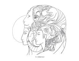 susan seddon boulet animal spirits coloring book
