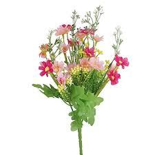 Fake Flower Arrangements 1 Bunch Of Fake Cineraria Artificial Flower Bouquet Home Office