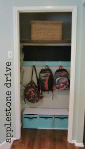 Extra Closet Storage by Best 20 Entry Closet Organization Ideas On Pinterest Small Coat