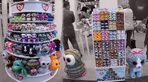 york toy fair 2017 ty beanie boo dolls u0026 teeny tys doll booth